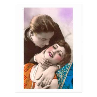 French Flirt - Romantic Art Post Cards