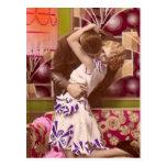 French Flirt - Romantic Postcard Art