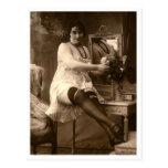 French Flirt  - Vintage Pinup