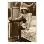French Flirt  - Vintage Pinup Girl