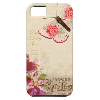 French Floral Carte Postale iPhone 5 Covers