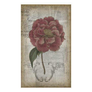 French Floral III Poster