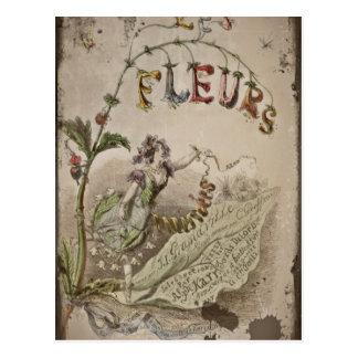 French Flower Fairy Postcard