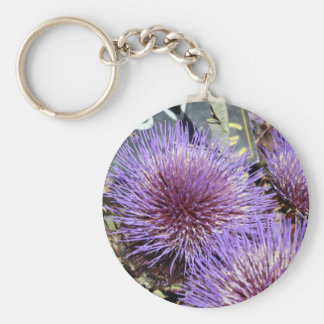 French Flower Market Purples Key Ring