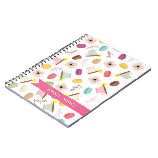 French Food Personalized Notebook