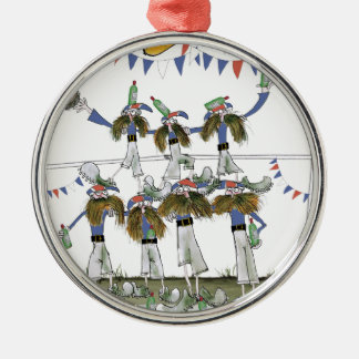 french football defenders christmas ornament