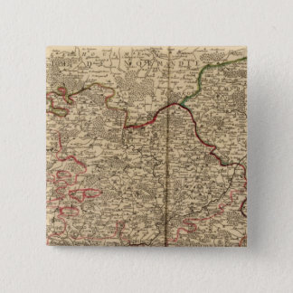 French forests 15 cm square badge