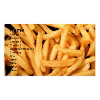 French Fries Business Card Templates
