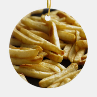 French Fries Christmas Ornament