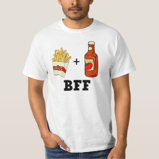 French fries & Ketchup BFF T-Shirt