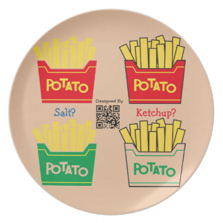 French fries lover plate