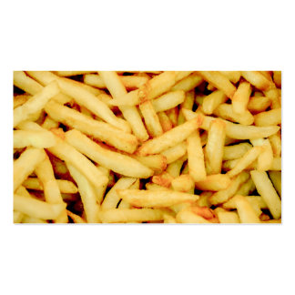 French Fries Pack Of Standard Business Cards