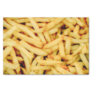 French Fries Tissue Paper