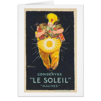 French Fruit Preserves Greeting Card