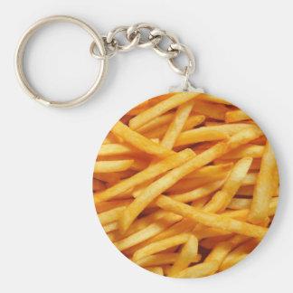 French Fry Key Ring