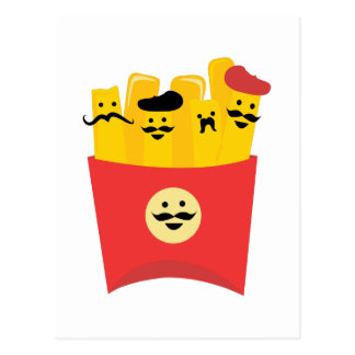 French Fry Postcard