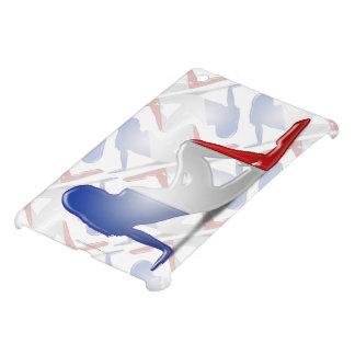 French Girl Silhouette Flag iPad Mini Case
