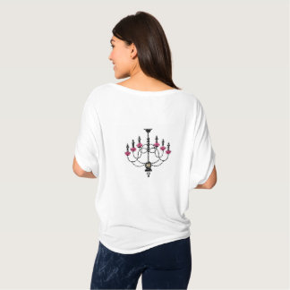 French Girlie Chandelier T-Shirt
