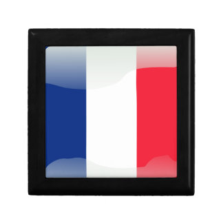 French glossy flag gift box