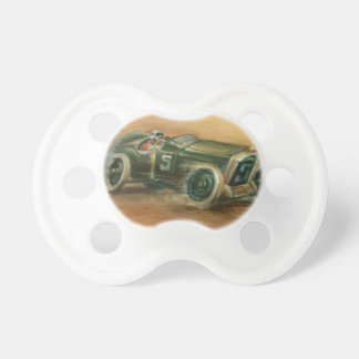French Grand Prix Racecar by Ethan Harper Baby Pacifier