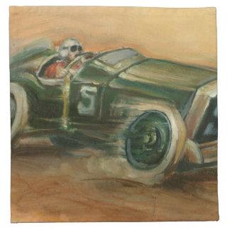 French Grand Prix Racecar by Ethan Harper Napkin