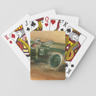 French Grand Prix Racecar by Ethan Harper Playing Cards