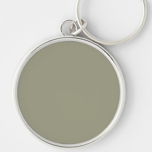 French Grey 5a Color Only Custom Design Keychain