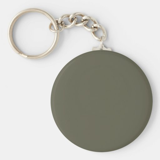 French Grey 8a Color Only Custom Design Keychain