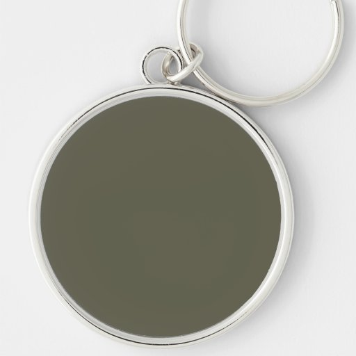French Grey 8a Color Only Custom Design Key Chains