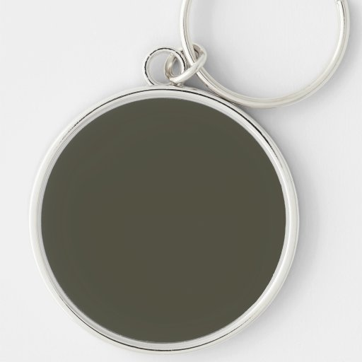 French Grey 9a Color Only Custom Design Key Chain