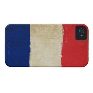 French Grunge Flag iPhone 4 Case