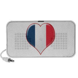 French Heart Charm iPhone Speaker