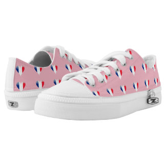 French hearts low tops