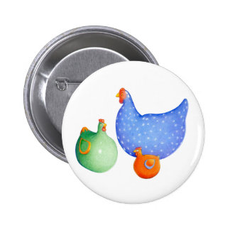 French Hens Button