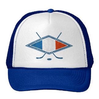 French Hockey Flag Logo Cap