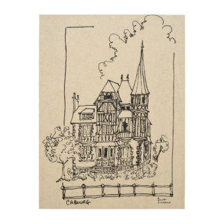 French Home | Cobourg, Normandy, France Wood Wall Art