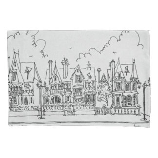 French Homes, Cobourg | Normandy, France Pillowcase