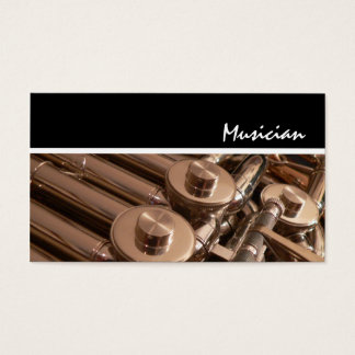 French Horn Business Card