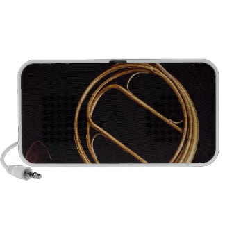 French Horn, by Marcel Auguste Raoux Portable Speaker