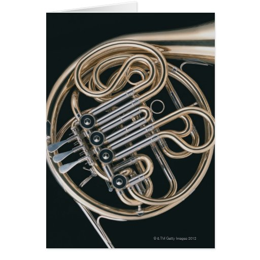 French Horn Greeting Cards