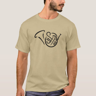 French horn instrument T-Shirt