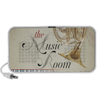 French Horn Music Room PC Speakers