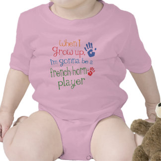French Horn Player Future Infant Baby T-Shirt