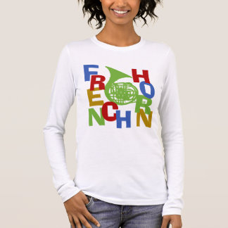French Horn Scramble Long Sleeve T-Shirt