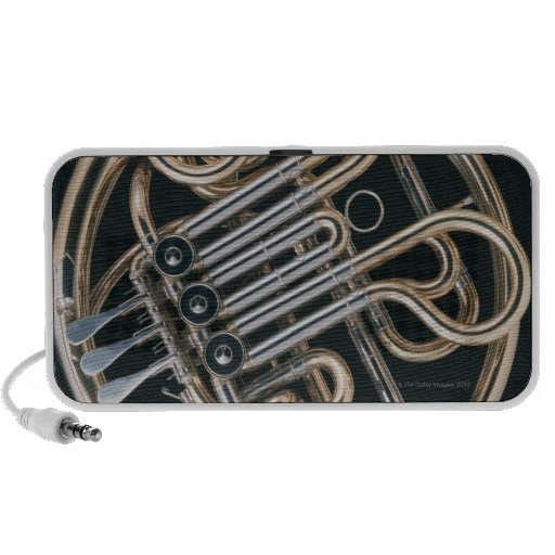 French Horn Laptop Speakers