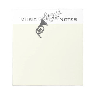 French Horn Wind  Musician Music Notes