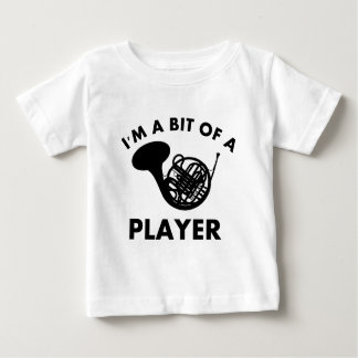 french horns musical instrument designs baby T-Shirt