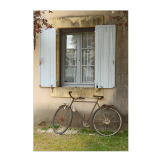 French House Acrylic Wall Art