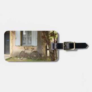 French House Luggage Tag