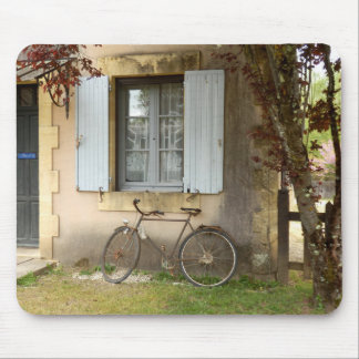 French House Mouse Mat
